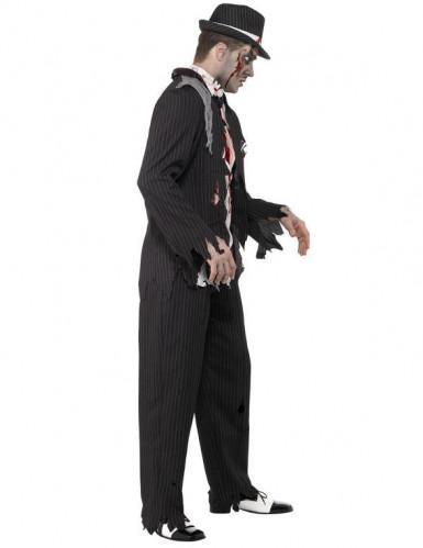 Zombie-gangster i Charlestonstil Voksen Halloween-1