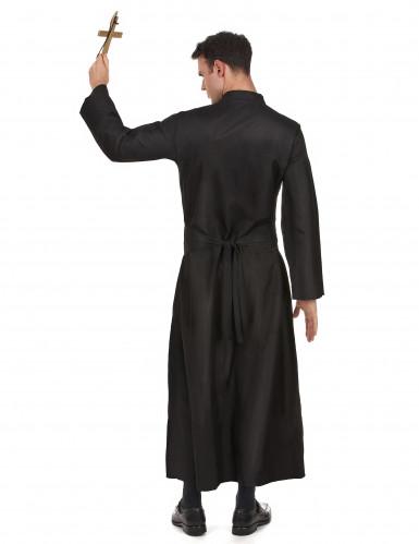 Sort præstekostume til mænd-2