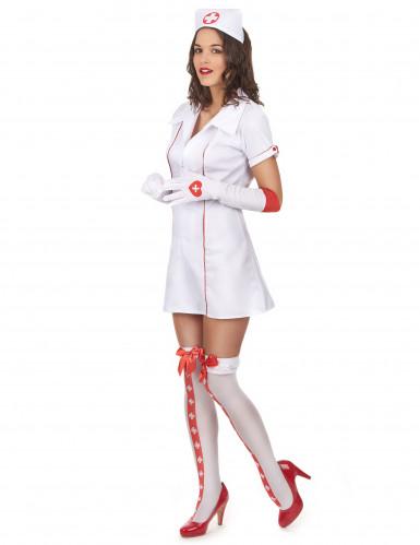 Udklædning sød sygeplejerske kvinde-1