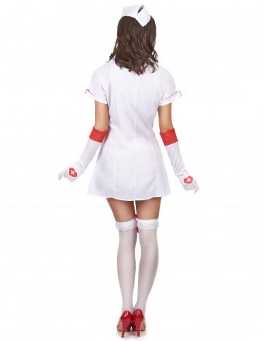 Udklædning sød sygeplejerske kvinde-2