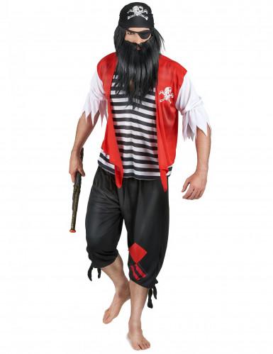 Piratdragt Mand