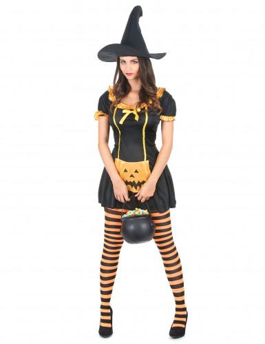 Græskar Dame Kostume