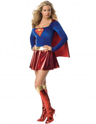 Supergirl™ -kostume deluxe kvinde