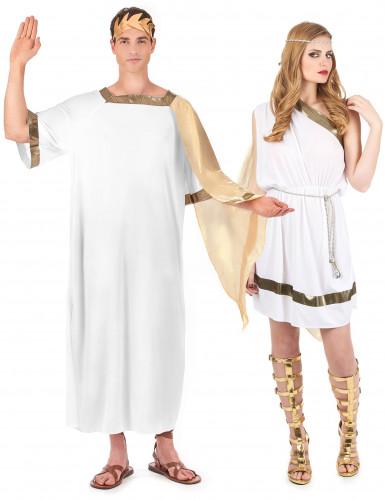 Parkostume romersk kejser og gudinde