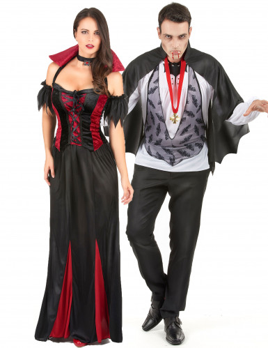 Parkostume flotte vampyrer Halloween