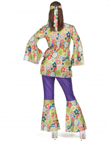 Disko hippiekostume til kvinder-2