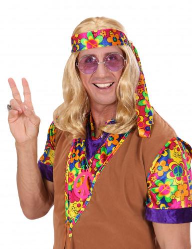 Blond hippieparyk til voksne