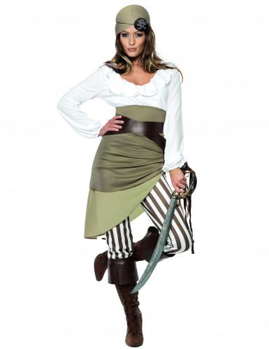 Pirat Dame Kostume