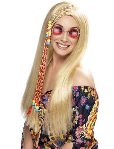Blond Hippieparyk til dame