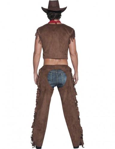 Sexet cowboy-kostume herrestørrelse-2