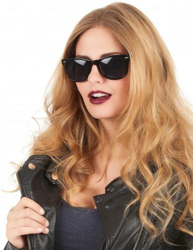 Sorte 50er briller til voksne-1