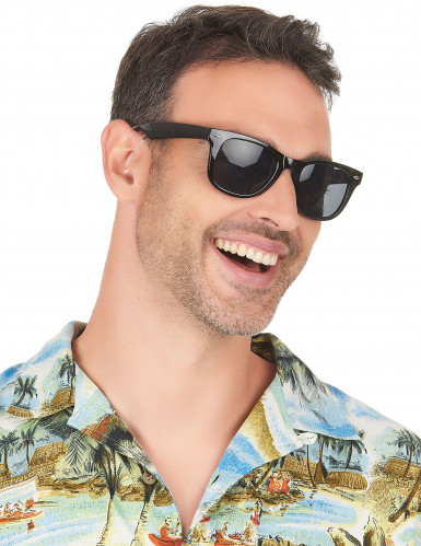 Sorte 50er briller til voksne-2