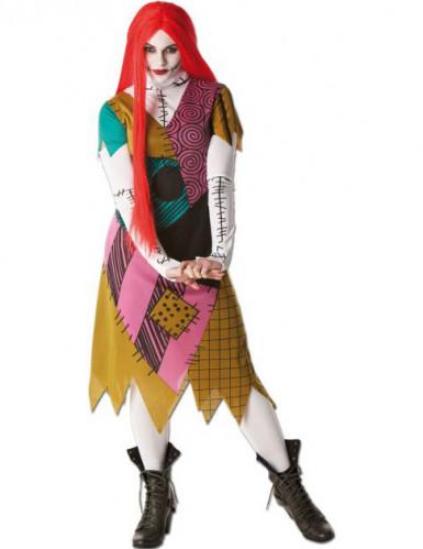 Sally The Nightmare Before Christmas™ - Et kvindeligt mareridt - udklædning