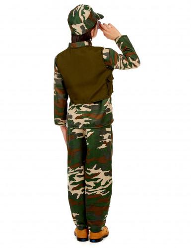 Soldat - udklædning til børn-2