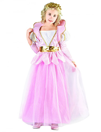 Eventyrprinsesse - Lyserød prinsessekjole til piger