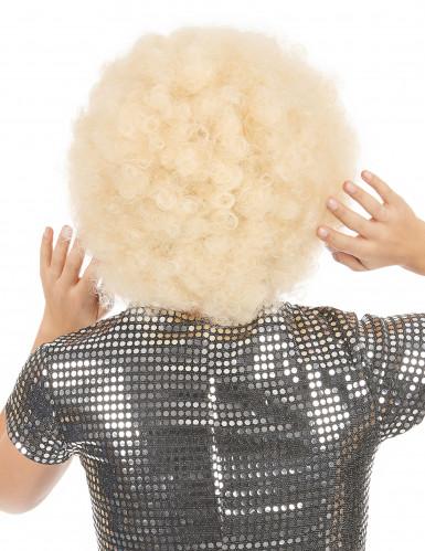 Blond afroparyk voksen-1