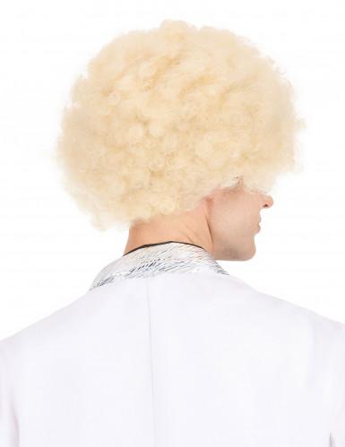 Blond afroparyk voksen-2