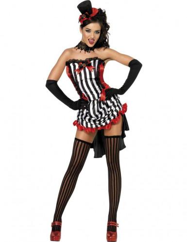 Sexet vampyrkostumekvinde Halloween