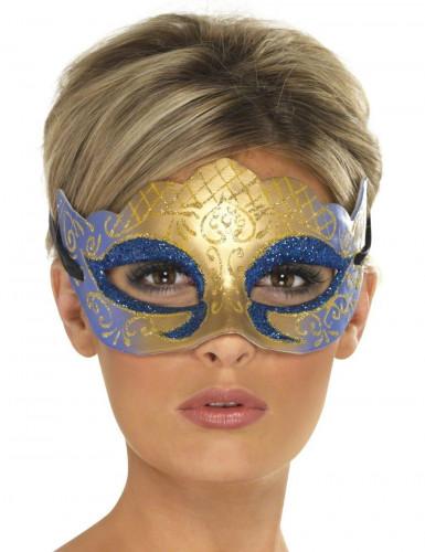 Venetiansk maske glitrende voksen