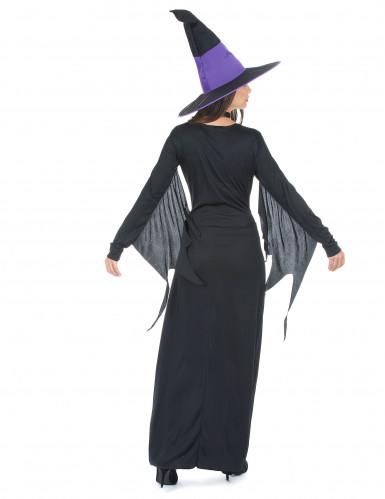 Sort og lille heksekjole til kvinder - Halloween -2