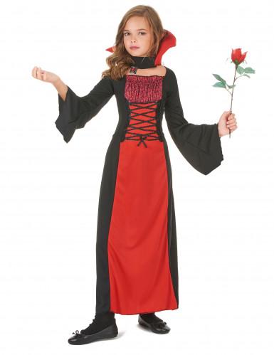 Kostume vampyr til piger Halloween-1