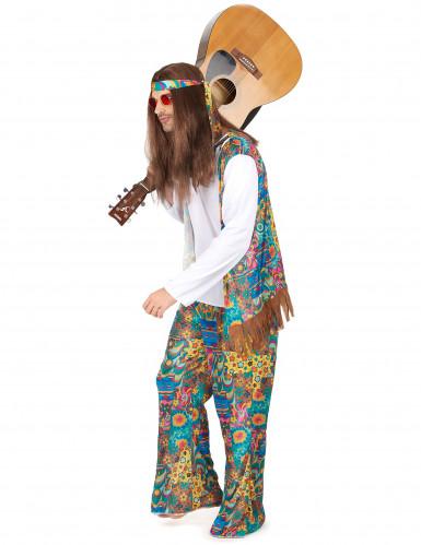Parkostume hippie knæhøj karse-1