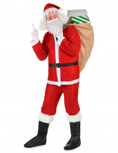 Den hyggelige julemand - Julemandskostume til voksne -1