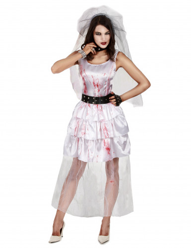 Zombiebrudekjole Halloween