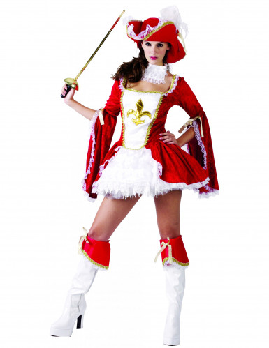 Musketer Kvinde Kostume