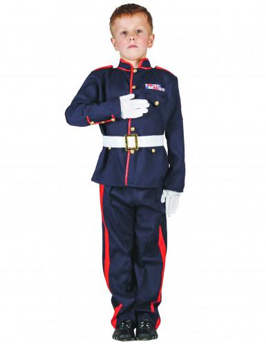 Soldaterkostume barn