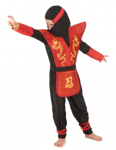Drage ninja - Ninjakostume til børn -1