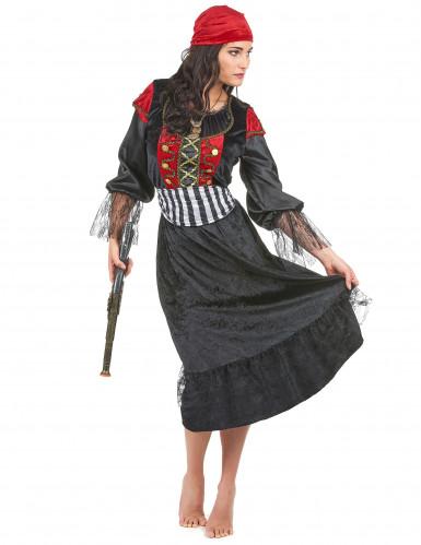 Mrs. Gunshot - Piratudklædning til kvinder