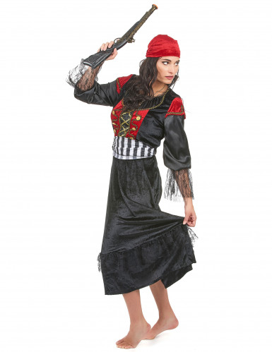 Mrs. Gunshot - Piratudklædning til kvinder-1