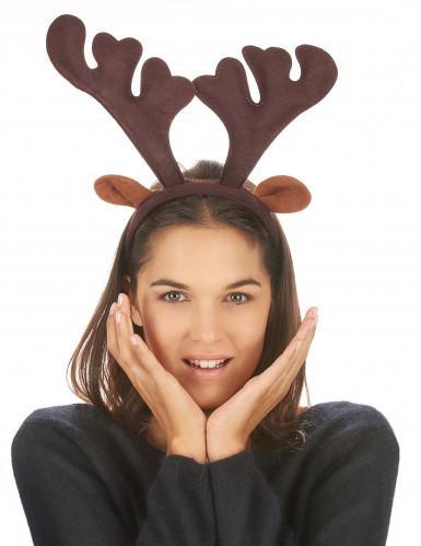 Julerensdyrgevir på hårbøjle-2