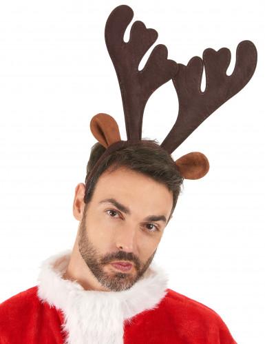 Julerensdyrgevir på hårbøjle-1