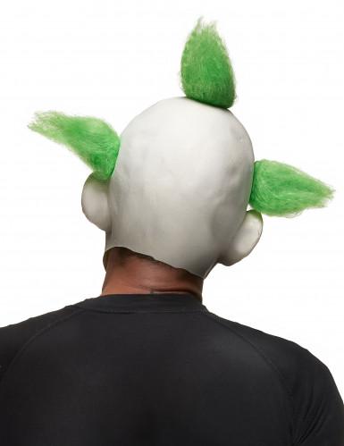 Skræmmende klovnemaske Halloween voksen-1