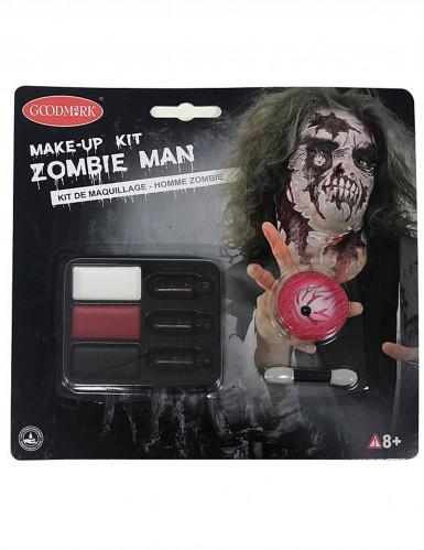 Sminkekit Zombie til voksne Halloween-1