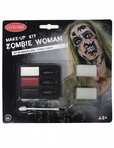 Sminkesæt zombie Halloween-1