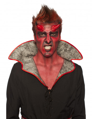 Sminkesæt djævel Halloween voksen