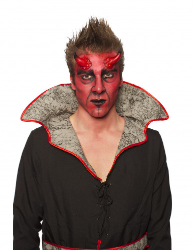 Sminkesæt djævel Halloween voksen-4