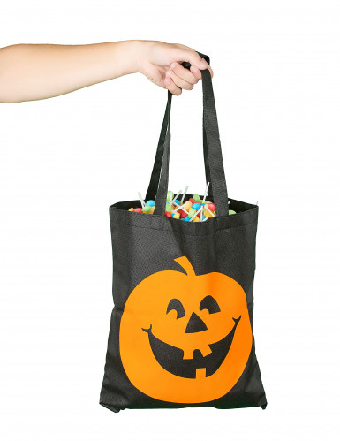 Stofpose græskar Halloween-1