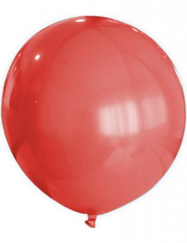 Ballon rød 80 cm