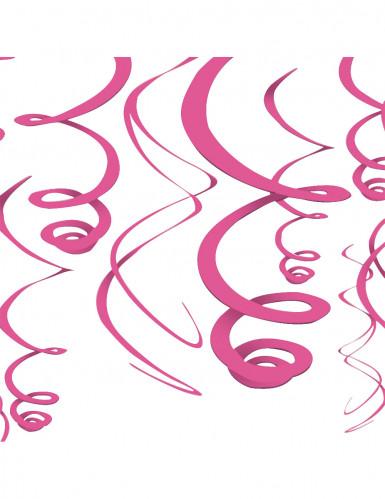 Hængende lyserød dekoration