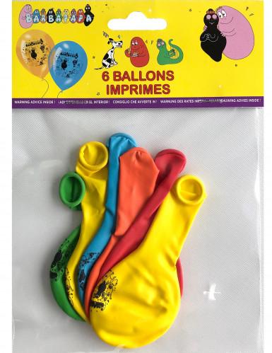 6 balloner med Barbapapa™-1