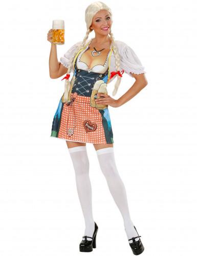 Forklæde bayersk kvinde til voksne