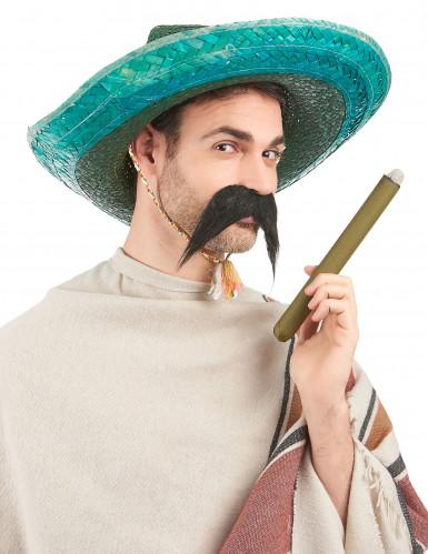 Grøn mexicansk sombrero til voksne-1