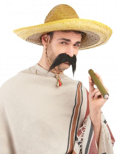 Gul mexicanskinspireret sombrero til voksne-1