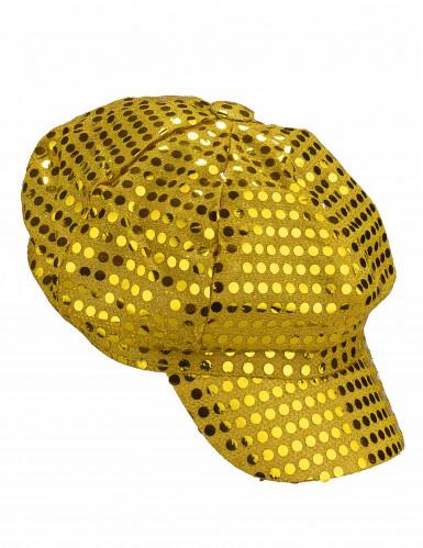 Guldfarvet discokasket voksne-1