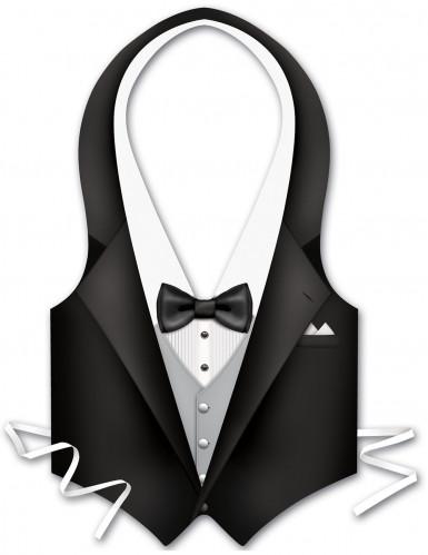 Plasticforklæde tjener herrer