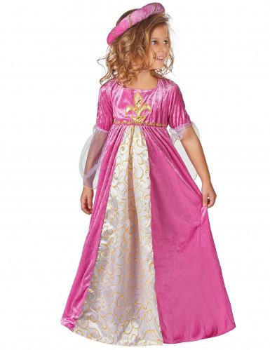 Kostume prinsesse middelalder til piger